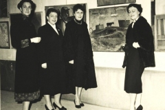 Kunstnerne-Gudrun-Henningsen-Gudrun-Poulsen-Ingeborg-Weeke-Vera-Myhre-1964